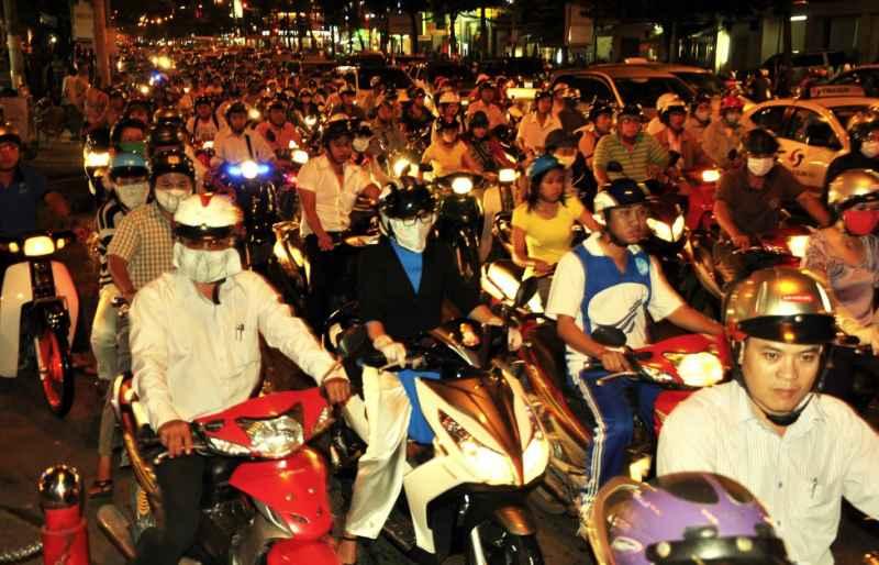 TravelFitter Vietnam Straßenverkehr