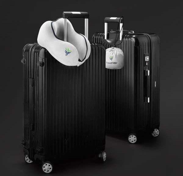 TravelFitter Reisekissen Koffer